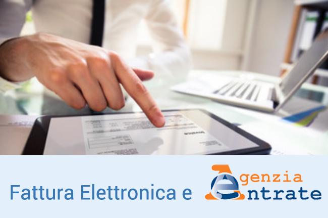 FATTURA ELETTRONICA : come funziona il servizio dell'Agenzia delle Entrate