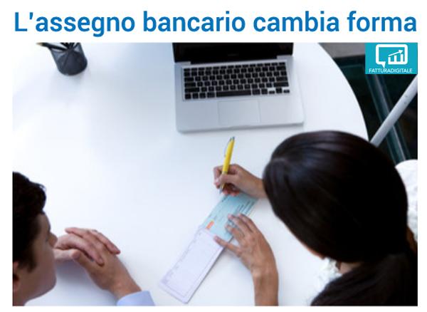 Il Cit cambia forma all'assegno bancario