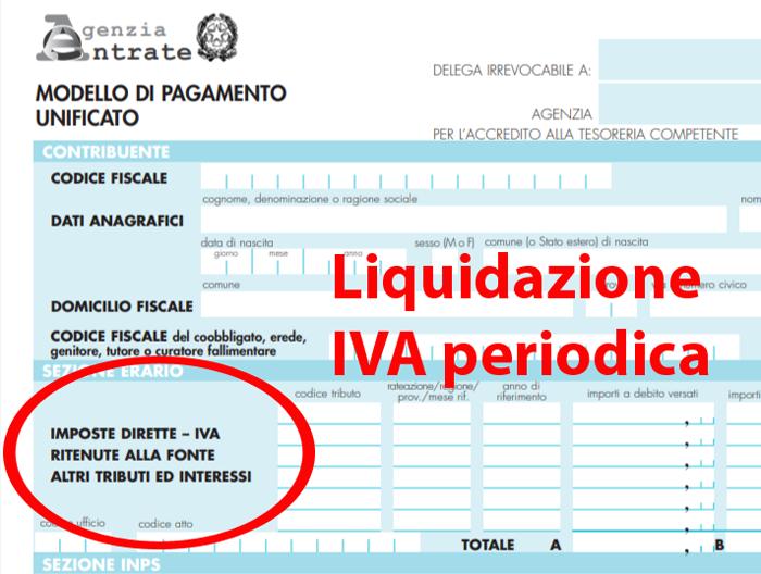 Versamento periodico IVA quando e come si paga