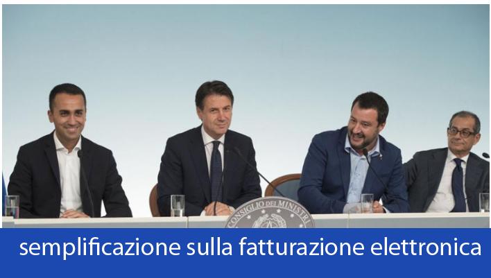 Consiglio dei Ministri semplifica le procedure della fatturazione elettronica
