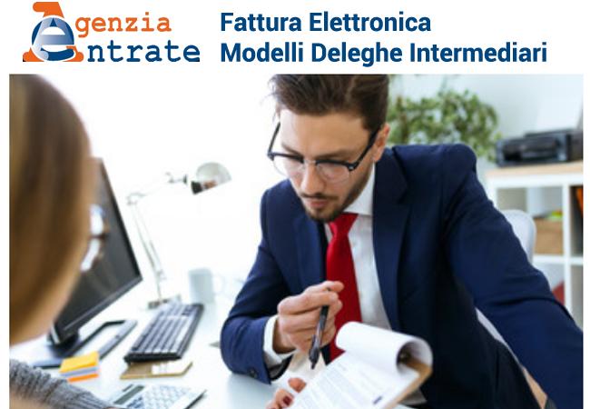 fatturazione elettronica modelli deleghe intermediari per i servizi agenzia delle entrate