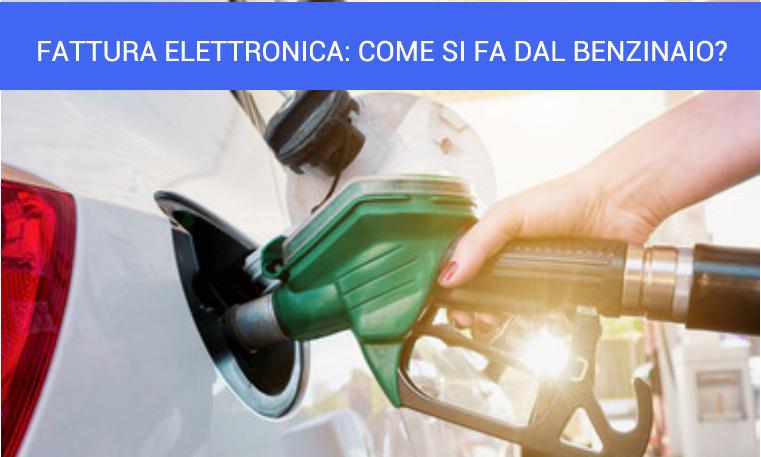 fattura elettronica come riceverla dal benzinaio