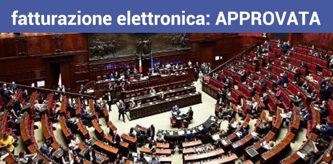 decreto fiscale 119/2018 è legge e la fattura elettronica è approvata definitivamente