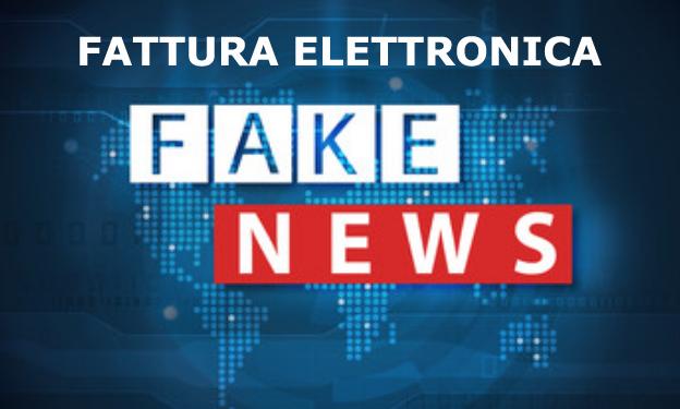 arrivano le prime fake news sulla fattura elettronica