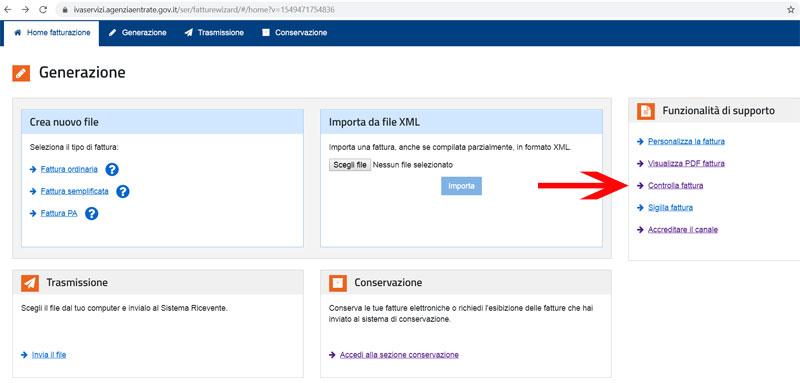 faq@fatturadigitale.com come controllare un xml prima di inviarlo a SdI