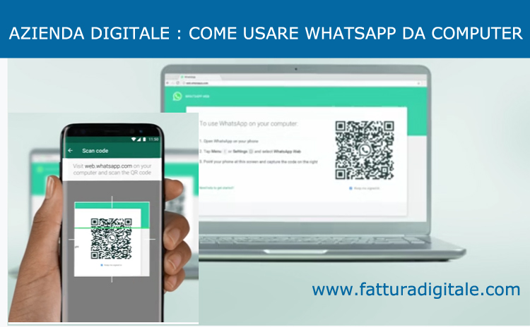 whatsapp web come usare whatsapp da computer
