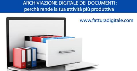 archiviazione digitale dei documenti perchè rende più produttiva la tua attività