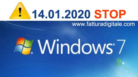 microsfot stop al supporto tecnico per windows 7
