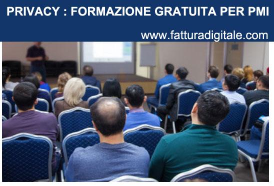 privacy formazione gratuita per le piccole e medie imprese italiane