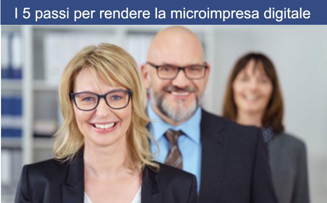 i 5 passi per rendere la microimpresa digitale