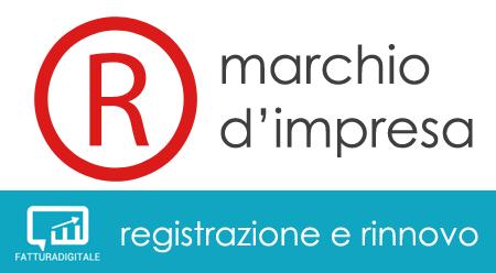 marchio d'impresa registrazione e rinnovo fatturadigitale